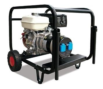 Generador Kohler Gasolina 7,5kva con AVR y kit de ruedas, monofásico: Amazon.es: Bricolaje y herramientas