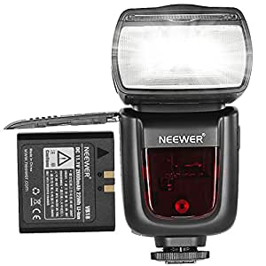 Neewer TT850  Li-ion Battery Flash Speedlite for Canon, Nikon, Pentax , Olympus and All Other Slr Dslr Cameras