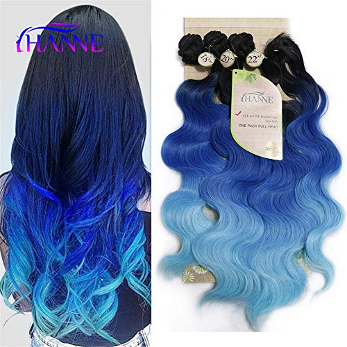HANNE Synthetic Resistant Colorful Extensions
