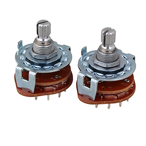 7 position rotary switch - 5