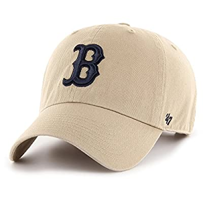 '47 Brand Adjustable Cap - CLEAN UP Boston Red Sox khaki by 47 Brand