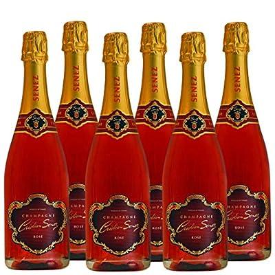 Champagne Cristian Senez France – Cuvée Brut Rosé de Saignée 6x75cl