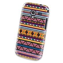 Xtra-Funky Range Samsung Galaxy Ace 2 (i8160) Aztec Tribal Mexican Patterned Plastic Hard Case Cover Shell - Design A7