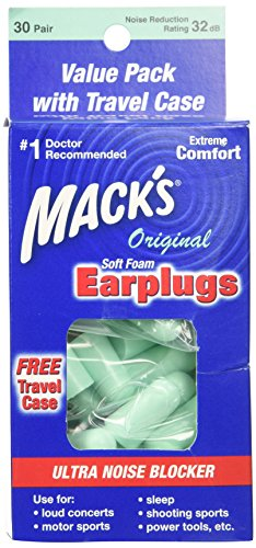 Macks Original Soft Foam Earplugs product image