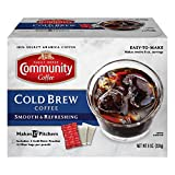 Community Coffee Cold Brew Coffee, 2 Count (Pack of 6)