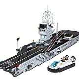 Enlighten Military Series the Aircraft Carrier Mini Figures Building Blocks Toy for Child / 1000 pieces (Plastic)