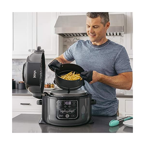 Ninja Foodi TenderCrisp Pressure Cooker, Black OP300 4
