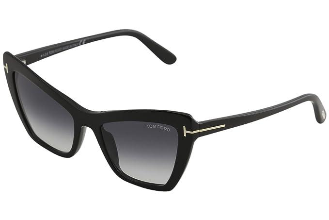 Occhiale da Sole Tom Ford Valesca-02 FT 0555 (01B) Quu4FBlE