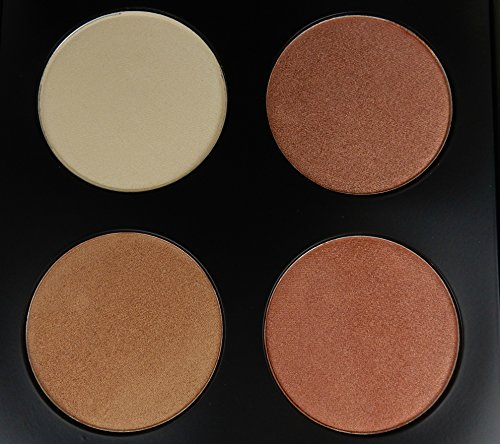Face Highlighters Illuminator & Bronzer Makeup Palette 2