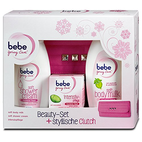 Bebe Young Care Soft Body Milk Face Cream + Shower Gel for DRY SKIN - GIFT SET - Young Care Bebe