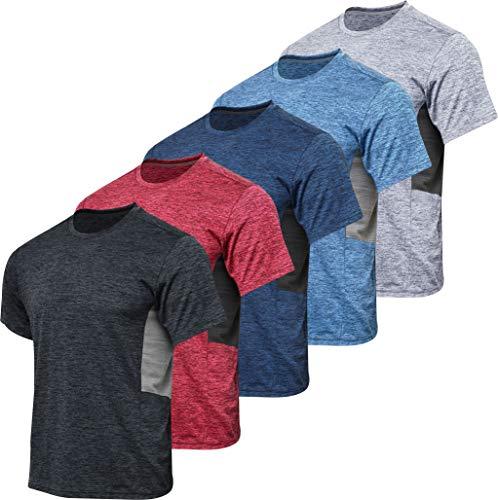 5 Men's Dry-Fit Shirts