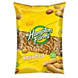 Hampton Farms Unsalted Roasted In-Shell Peanuts, 5 lbs. (pack of 2)