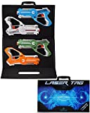 Dynasty Laser Tag Set for Kids, Extreme Multiplayer Pack (4 Blasters) - with Collectible Storage Case