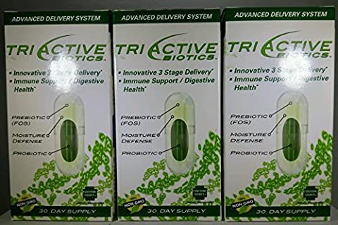 Triactive 3 Stage Maximum Performance Probiotic 14 14 Strains By Essential Source - 3pk (Pro Stages)