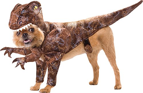 UHC Raptor Dinosaur Animal Planet Funny Theme Halloween Pet Dog Costume, S (Animal Planet Raptor Dog Costume)