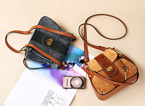 Handbag Blue Bag Leather Saddle Shoulder Bag Retro By Simple JiYe Women's Handbags Lady 7pHwnUSI