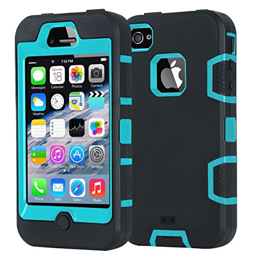 iPhone 4 Case,iPhone 4S Case,Shockproof Heavy Duty for sale  Delivered anywhere in USA