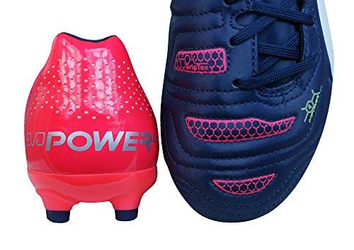 Puma evoPOWER 4.2 AG Jr - zapatillas de fútbol de material sintético infantil Multi