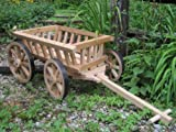 Medium Flower Girl Pumpkin Wagon - Unfinished