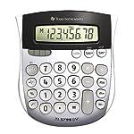 Texas Instruments TI1795SV Solar Calculator, Silver, 1 Pack