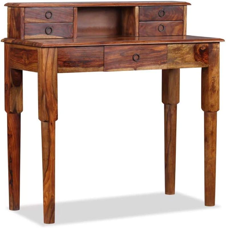 Escritorio de madera maciza estilo francés, estilo vintage, estilo ...