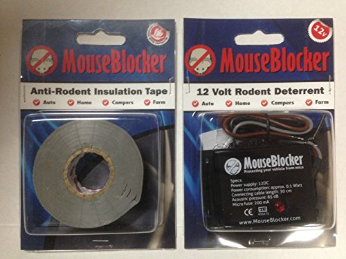 Mice Control Kit (MouseBlocker Automotive Anti-Rodent Protection Kit)