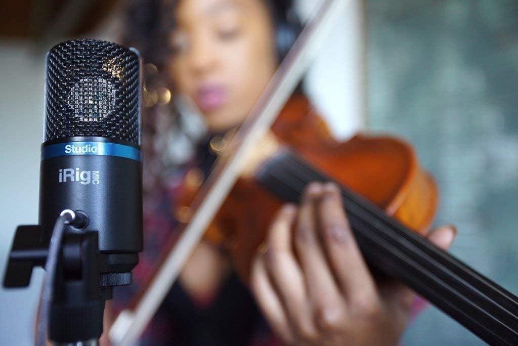 IK Multimedia iRig Mic Studio Microphone Black