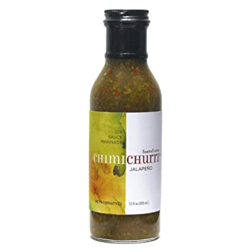 Samba Flavor Sambaflavor Jalapeno Chimichurri Sauce, 12 oz, All Natural