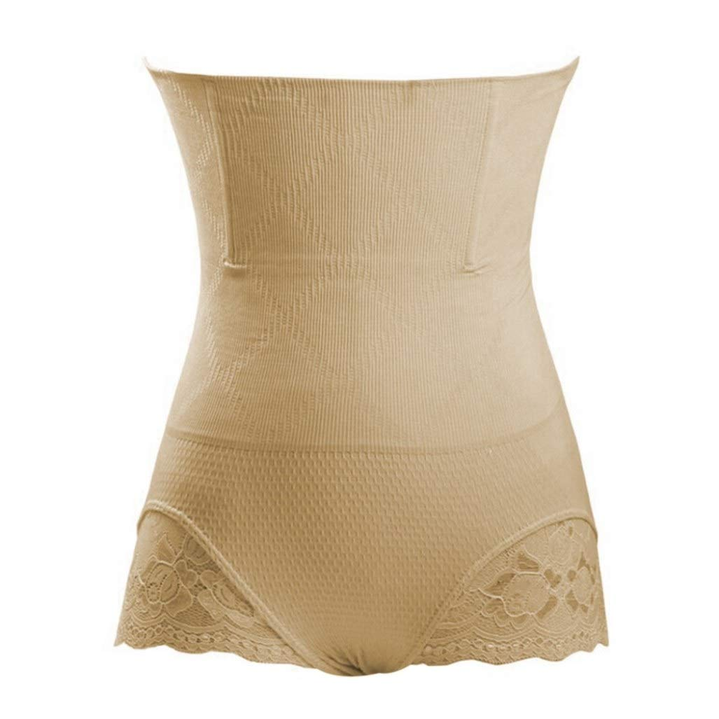 XOKIMI Womens High Waist Butt Lifter Seamless Shapewear Thigh Slimmer Back Hole Control Panties Body Shaper
