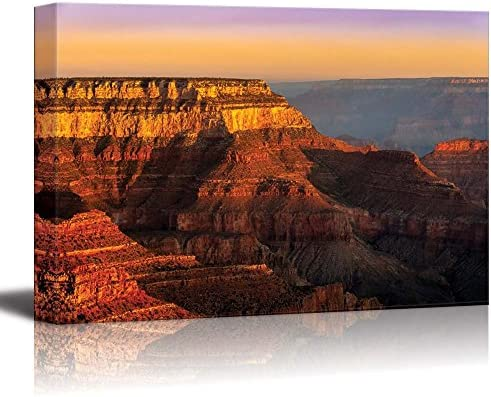 Amazon Com Canvas Prints Wall Art Colorful Sunrise At Grand Canyon National Park Arizona Usa Modern Wall Decor Home Art Stretched Gallery Canvas Wraps Giclee Print Ready To Hang 24 X