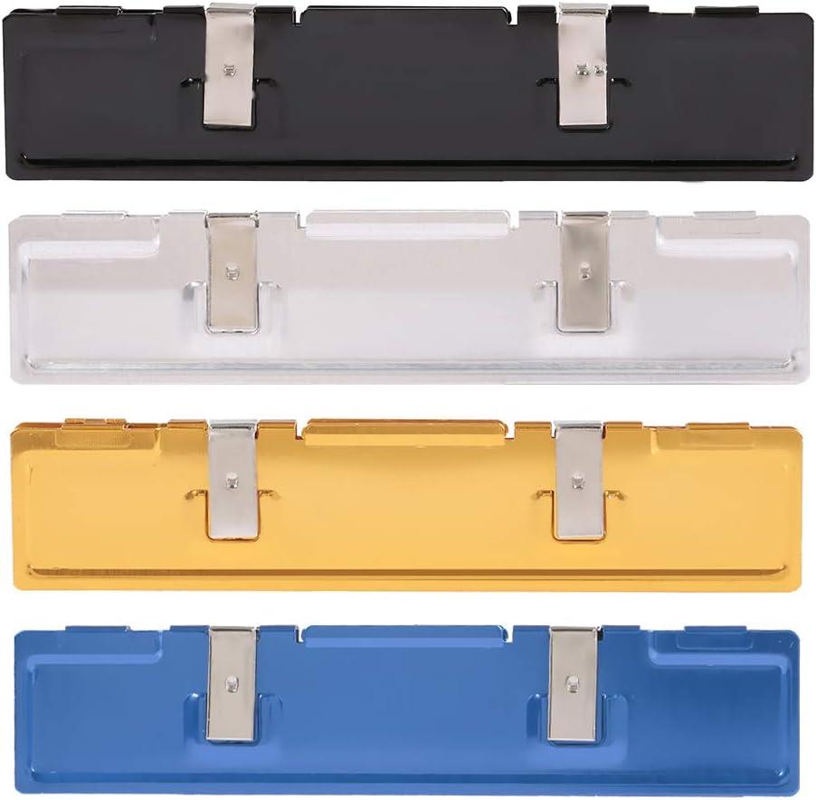 Black Festnight DDR Aluminium Heatsink Ram Memory Cooler Cooling Shim Spreader