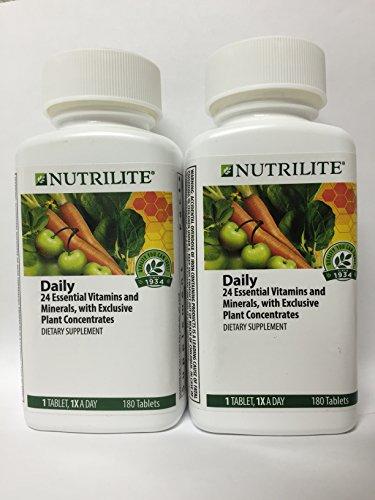NUTRILITE® Daily Multivitamin Multimineral 180 tablets x 2 Bottles