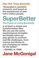 SuperBetter: The Power of Living Gamefully Capa comum