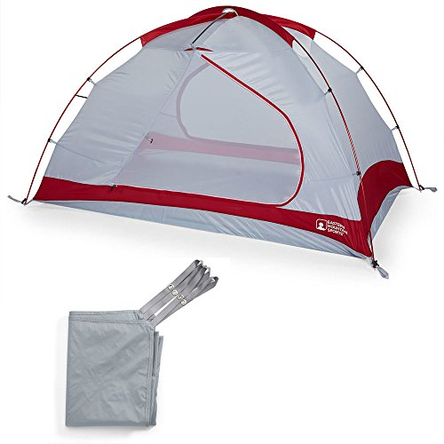 7' 2.5 Mm Diamond (EMS Big Easy 2 Tent Chili Pepper Red One Size)