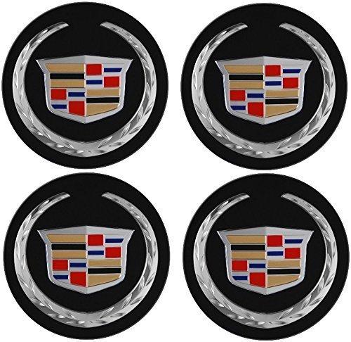 4pcs. REPLACEMENT PART 2004-2009 Cadillac DTS SRX CTS CTS-V XLR Wheel Center Hub Cap - Cadillac Center Cap