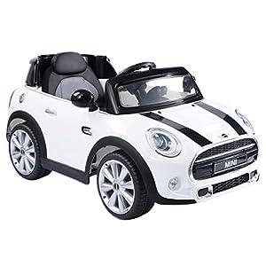 Costzon White BMW Mini Cooper 12V Electric Kids Ride On Car Licensed MP3 RC Remote Control