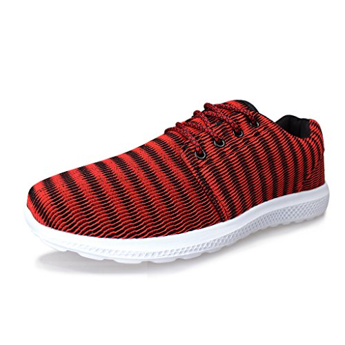 Running Sport Hawkwell Léger Homme de Athlétique Chaussure Rouge Sneaker wqaBvaO7Wc