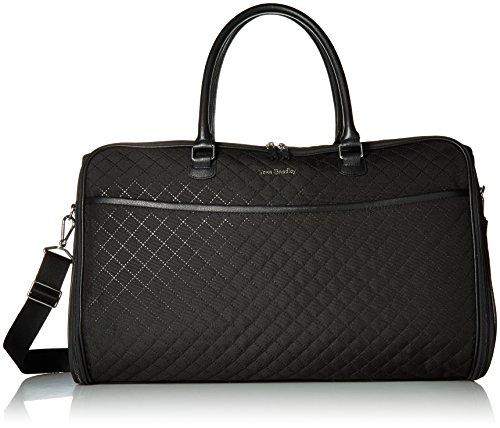Vera Bradley Iconic Convertible Garment Bag, Classic Black Black by Vera Bradley
