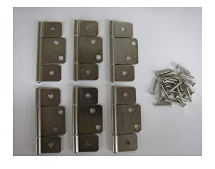 Mobile Home Rv Parts Interior Door Hinges Package Of 6 Non Mortise
