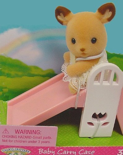Calico Critters - Baby Carry Case - Deer on Slide (Calico Carry Case)
