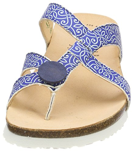 Think capri Femme Tongs kombi 90 Bleu 282331 Julia 6wHr4xq68