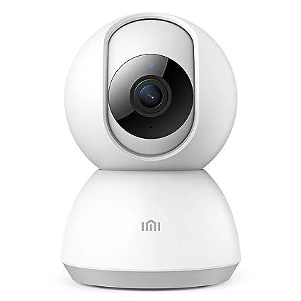 IMI Cámara de Vigilancia WiFi Interior 1080P FHD con Audio de 2 Vías Cámara IP Inalámbrica