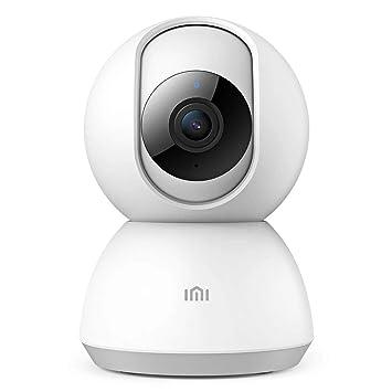 Xiaomi - Cámara de vigilancia WiFi interior 1080P HD con visión nocturna, audio bidireccional, detección de movimiento, Pan/Tilt, cámara IP WiFi ...