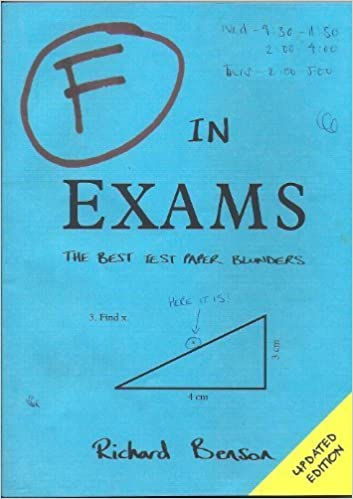 Image result for F in Exams: The Best Test Paper Blunders