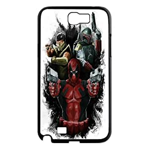 Printed Quotes Phone Case Deadpool Marvel For Samsung Galaxy Note 2 N7100 Q5A2112445