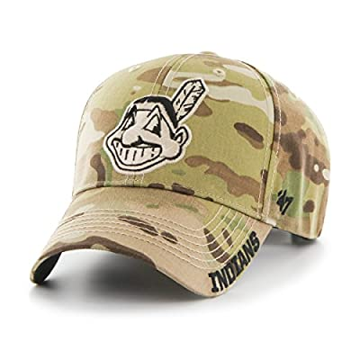 Camo Adjustable Cleveland Indians Myers MVP Hat