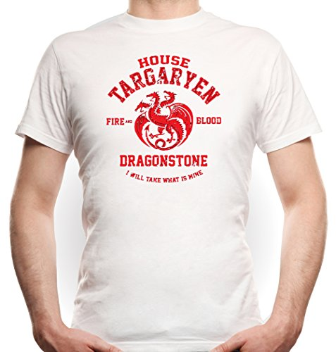 House Targaryen T-Shirt White Certified Freak