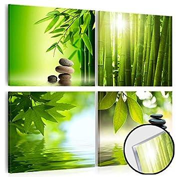 Murando - Acrylglasbild Natur 80X80 Cm - Glasbilder - Wandbilder