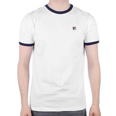 Fila Vintage marconi T-Shirt | White: Amazon.de: Bekleidung