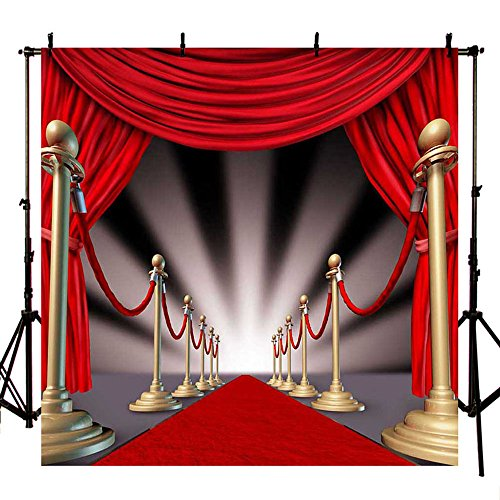 Mehofoto Red Carpet Photography Backdrop Wedding Photo Background Studio and Event Prop 10x10ft